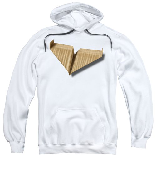 Paper Airplanes Of Wood 8 Sweatshirt by YoPedro
