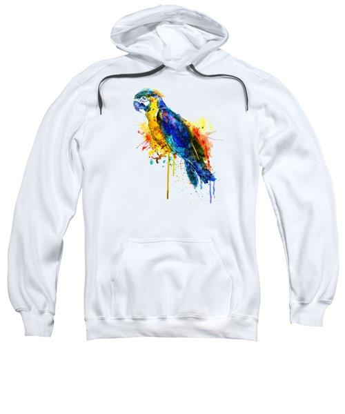 Parrot Watercolor  Sweatshirt by Marian Voicu