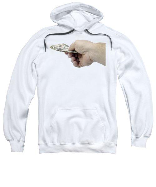 Pay Money Sweatshirt by Erich Grant