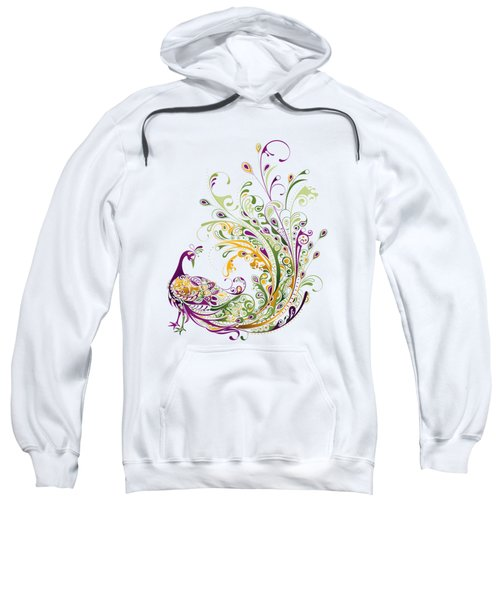 Peacock Sweatshirt by Bekare Creative