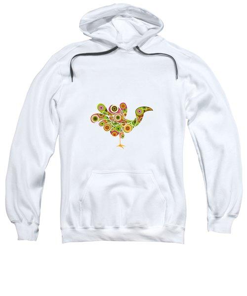 Peafowl Sweatshirt by Bekare Creative