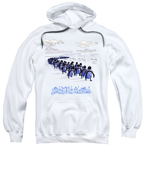 Penguin March Sweatshirt by Methune Hively