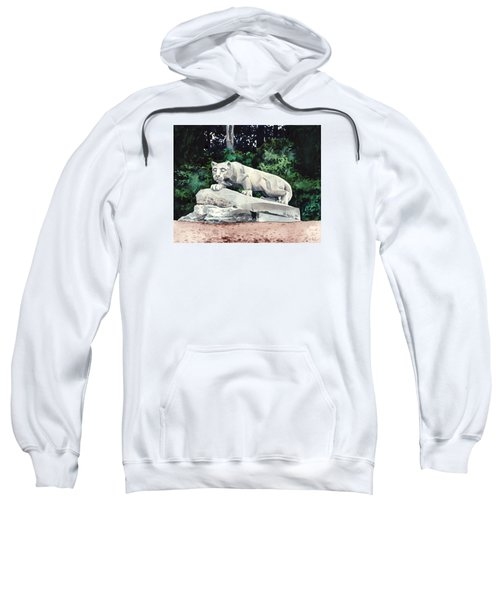 Penn State Nittany Lion Shrine University Happy Valley Joe Paterno Sweatshirt by Laura Row