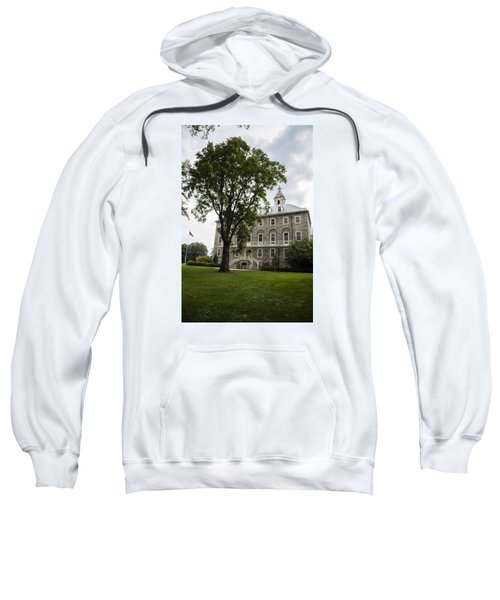 Penn State Old Main From Side  Sweatshirt by John McGraw