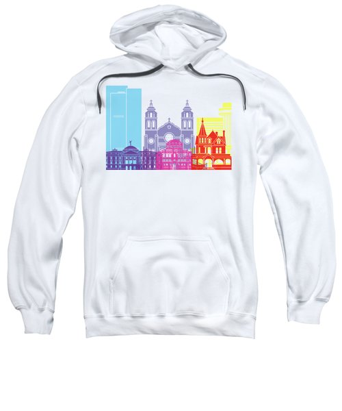 Phoenix Skyline Pop Sweatshirt by Pablo Romero
