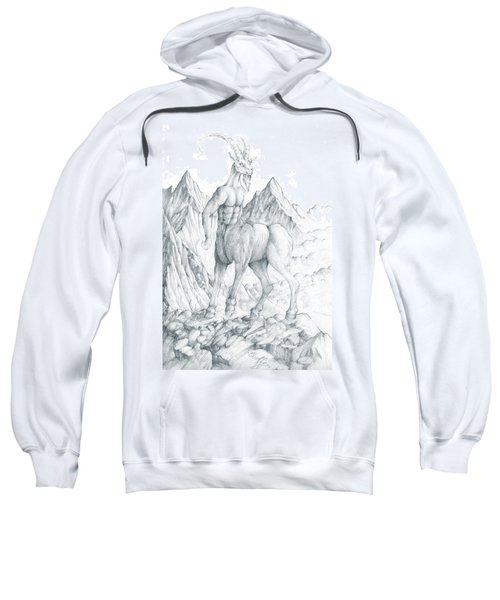 Pholus The Centauras Sweatshirt by Curtiss Shaffer