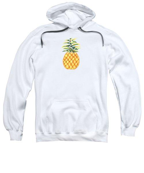 Pineapple Sweatshirt by Kathleen Sartoris