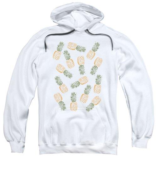 Pineapples Sweatshirt by Rui Faria
