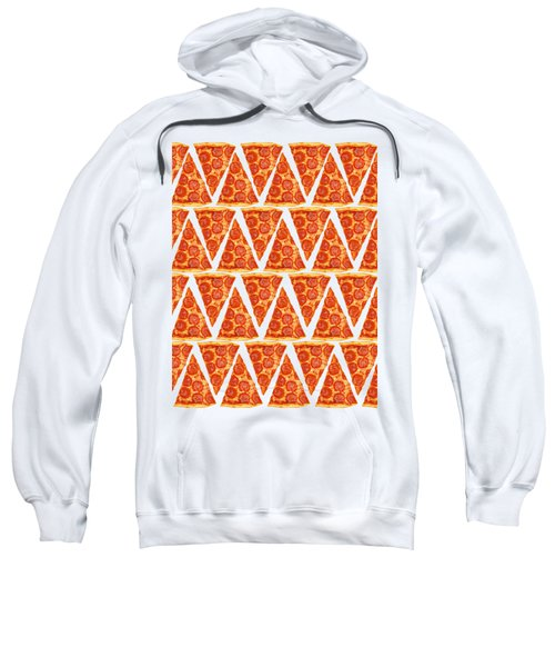 Pizza Slices Sweatshirt by Diane Diederich