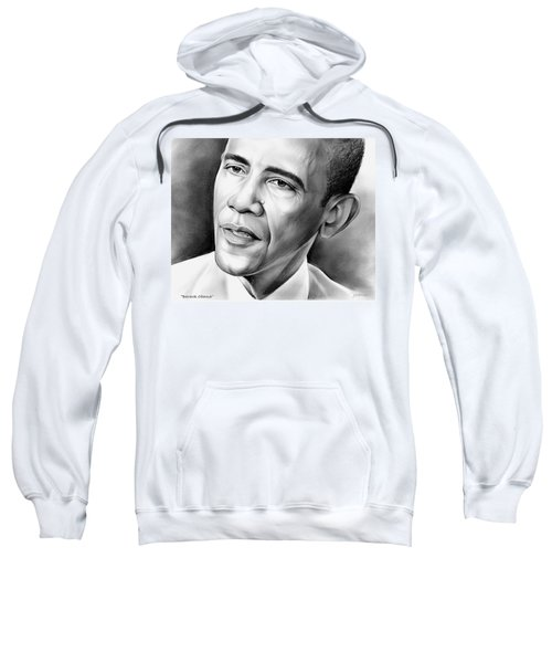 President Barack Obama Sweatshirt by Greg Joens