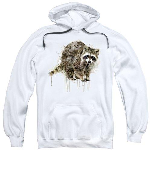 Raccoon Sweatshirt by Marian Voicu