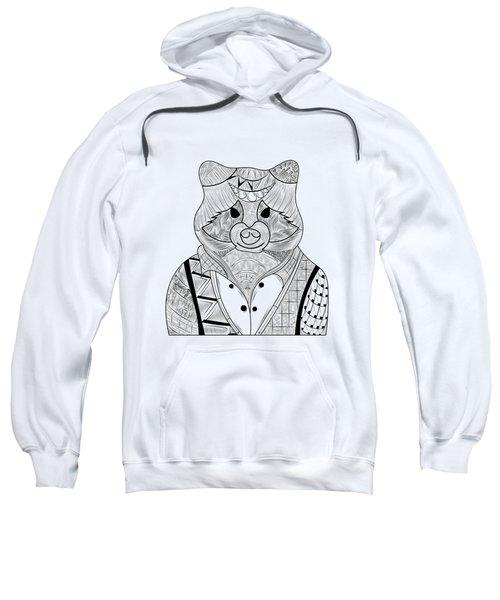 Raccoon Sweatshirt by Serkes Panda