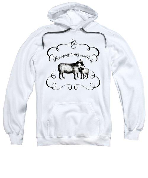 Revenons A Nos Moutons Sweatshirt by Antique Images