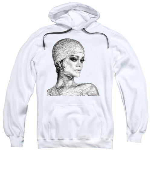 Rihanna Sweatshirt by Rafael Salazar