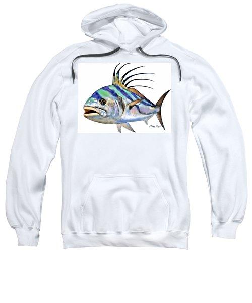 Roosterfish Digital Sweatshirt by Carey Chen