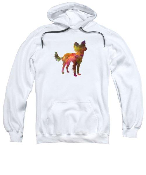 Russian Toy 02 In Watercolor Sweatshirt by Pablo Romero