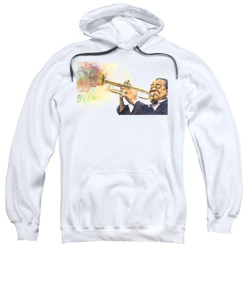 Satchmo Sweatshirt by Adrienne Norris