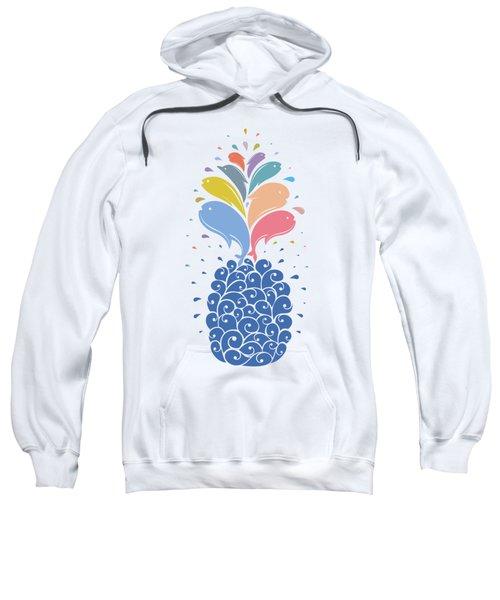 Seapple Sweatshirt by Mustafa Akgul