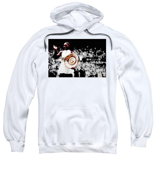 Serena 2016 Wimbledon Victory Sweatshirt by Brian Reaves