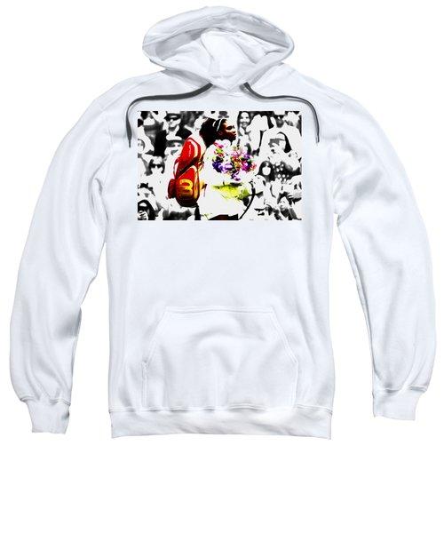 Serena Williams 2f Sweatshirt by Brian Reaves