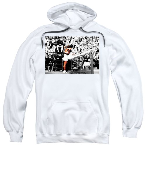 Serena Williams And Angelique Kerber 1a Sweatshirt by Brian Reaves
