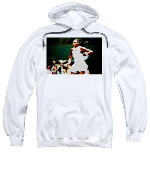Serena Williams Making History Sweatshirt by Brian Reaves