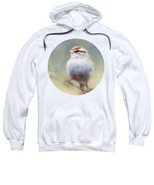 Serendipitous Sparrow  Sweatshirt by Anita Faye