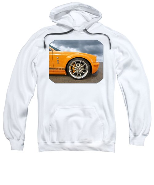 Shelby Gt500 Wheel Sweatshirt by Gill Billington