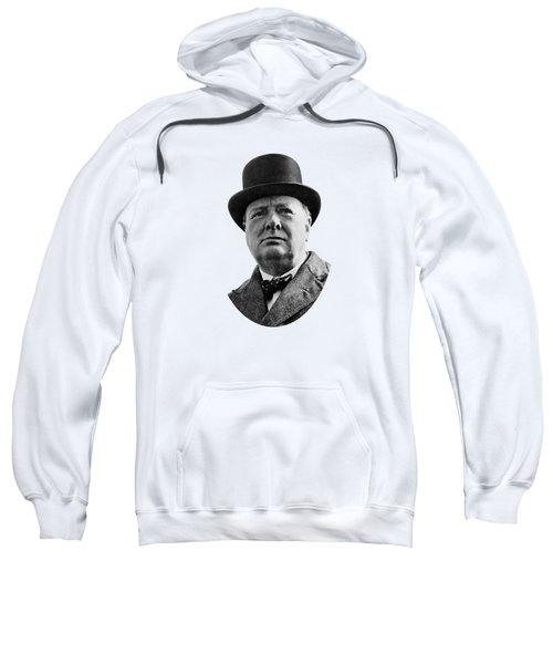 Sir Winston Churchill Sweatshirt by War Is Hell Store