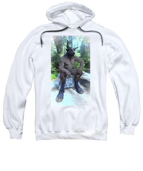Sitting Bull Sweatshirt by Joaquin Abella