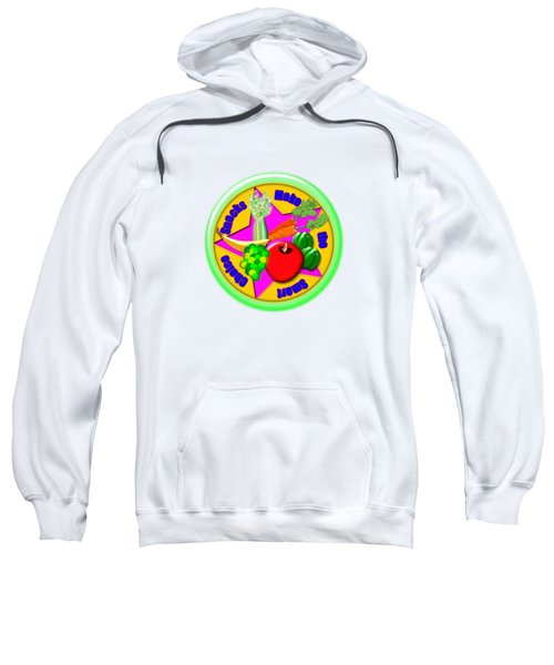 Smart Snacks Sweatshirt by Linda Lindall