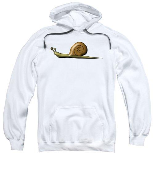 Snail Sweatshirt by Michal Boubin
