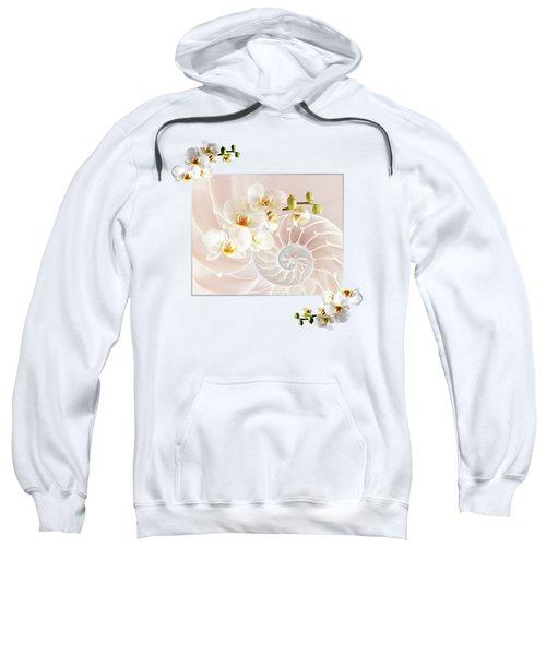 Soft Pink Fusion Sweatshirt by Gill Billington