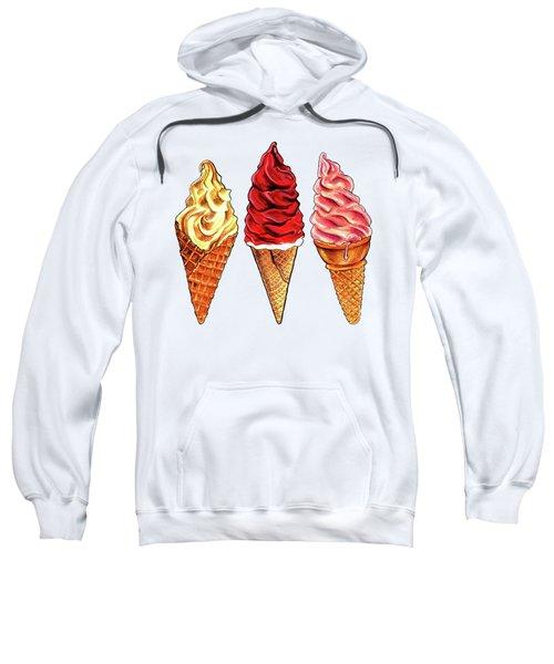 Soft Serve Pattern Sweatshirt by Kelly Gilleran