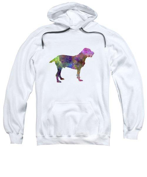 Spinone In Watercolor Sweatshirt by Pablo Romero