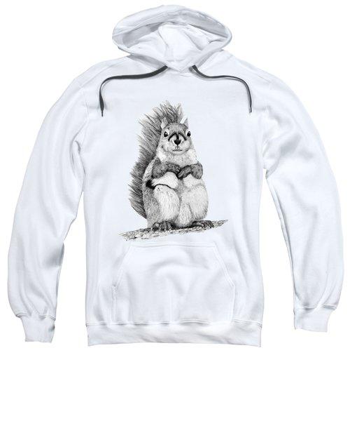 Squirrel Sweatshirt by John Stuart Webbstock