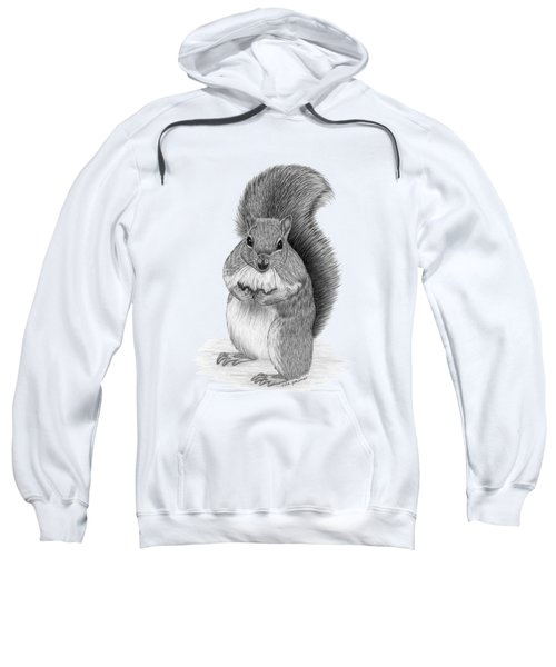 Squirrel Sweatshirt by Rita Palmer