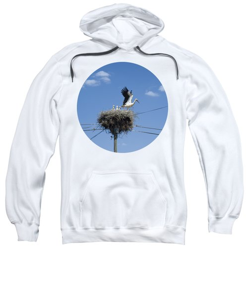 Storks Nest Alentejo Sweatshirt by Mikehoward Photography