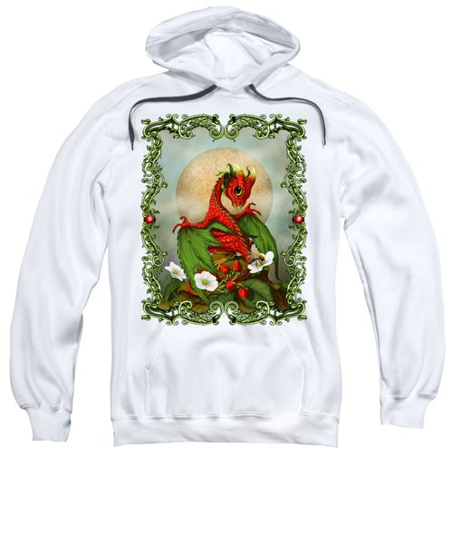 Strawberry Dragon T-shirt Sweatshirt by Stanley Morrison