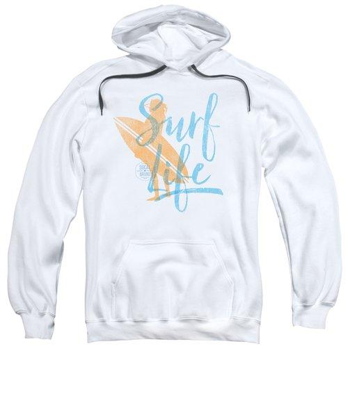 Surf Life 2 Sweatshirt by SoCal Brand