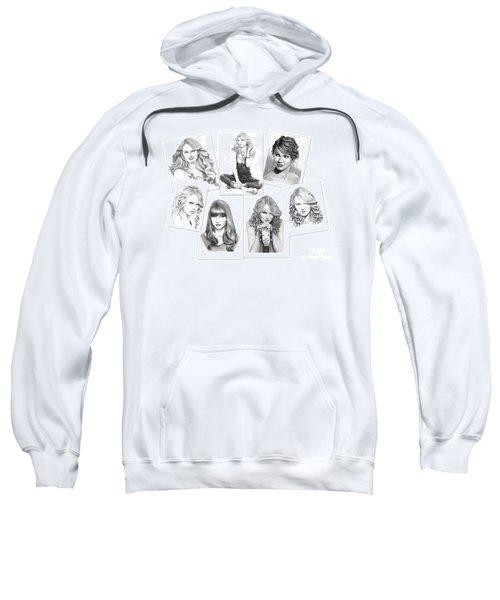 Taylor Swift Collage Sweatshirt by Murphy Elliott