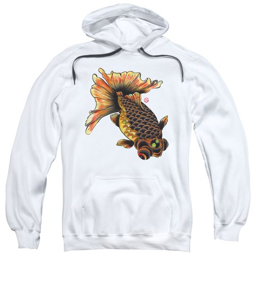 Telescope Goldfish Sweatshirt by Shih Chang Yang