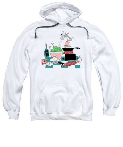 The Hungry Mouse Sweatshirt by Little Bunny Sunshine