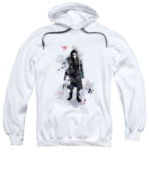 The Joker Sweatshirt by Marlene Watson