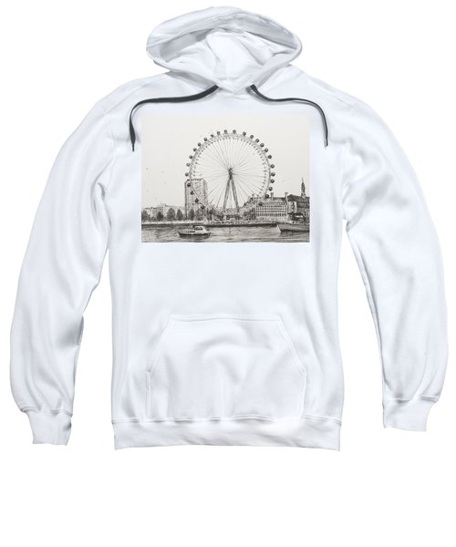 The London Eye Sweatshirt by Vincent Alexander Booth
