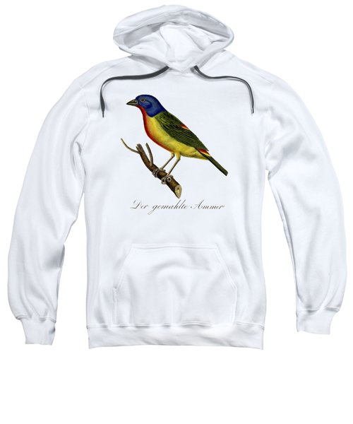 The Painted Bunting Sweatshirt by Unknown