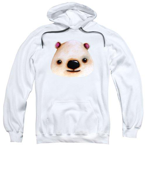 The Polar Bear Sweatshirt by Lucia Stewart
