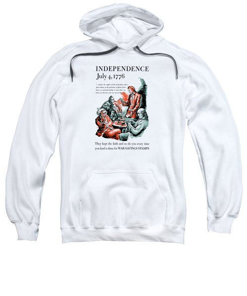 They Kept The Faith - Ww2 Sweatshirt by War Is Hell Store