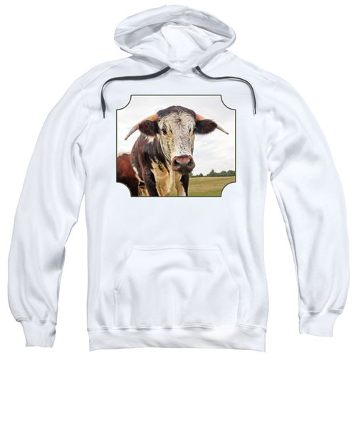 This Is My Field Sweatshirt by Gill Billington