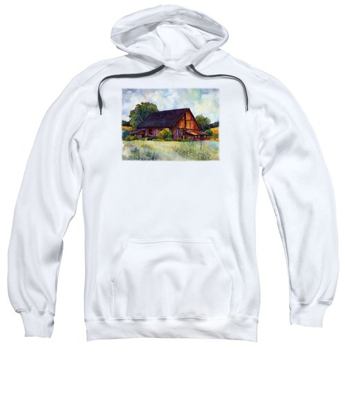 This Old Barn Sweatshirt by Hailey E Herrera